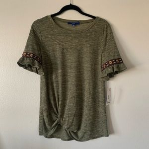 NWT Green Top